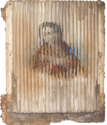gravure découpée en bandelette, nettoyage de gravures