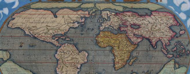 Restauration d'une carte ancienne d'Ortelius