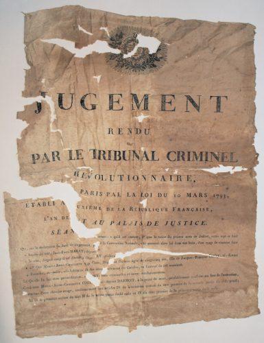 Restauration de vieux papiers