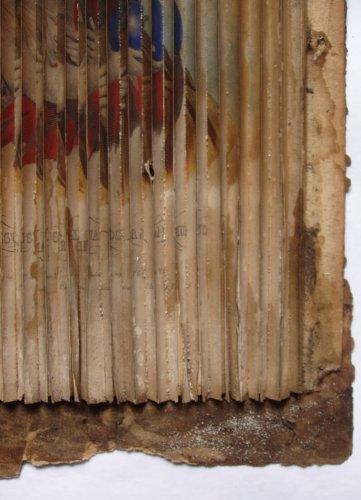 Restauration d'objets sur papier : images stereoscopiques