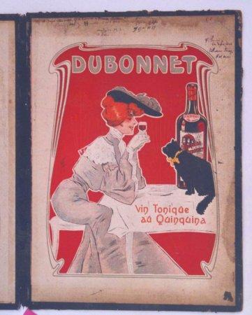 Restauration lithographie publicité